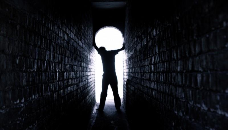 Man Standing in light